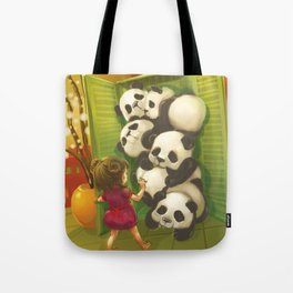 A cupboard of pandas Tote Bag
