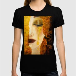 Freya's Golden Tears Viking Lore T-shirt