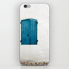 Old blue store iPhone & iPod Skin