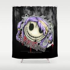 Totenknöpfin Shower Curtain