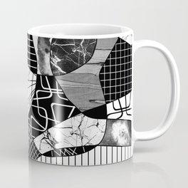 Chaotic Black And White Coffee Mug