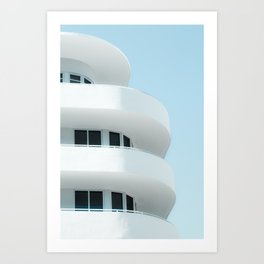 Art Deco Miami Beach #3 Art Print