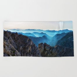 Mountains Breathe Too Beach Towel