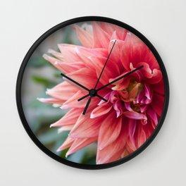 Fifty Shades Of Pink Wall Clock