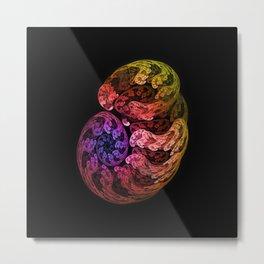 Fractal embryo Metal Print
