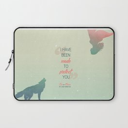 Six of Crows - I have been made to protect you Laptop Sleeve