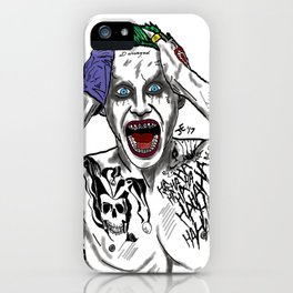We're All A Little Mad iPhone Case
