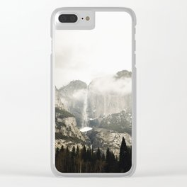 Yosemite in March Clear iPhone Case