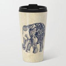 Simple Elephant Travel Mug