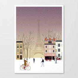 the Parisian way of life Canvas Print