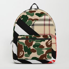 comby pattern Backpack