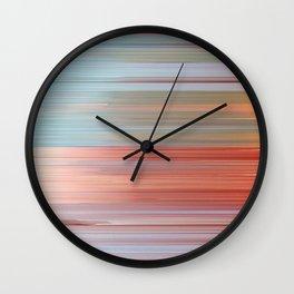 Pixel Sorting 47 Wall Clock