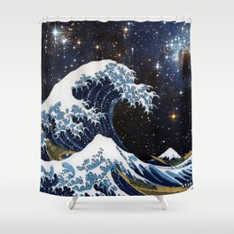 Hokusai & LH95 Shower Curtain