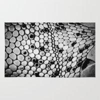 lizard Area & Throw Rugs featuring Lizard by Spyck