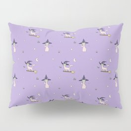 Witch Cat Pillow Sham