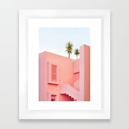 Muralla Roja Framed Art Print