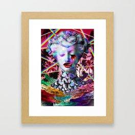 Divine Decadence Framed Art Print
