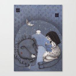 Lion Tamer Canvas Print