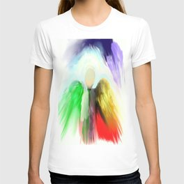 Angel in a Shawl T-shirt