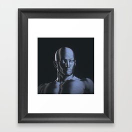 Metal Man Framed Art Print