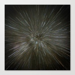 zooming towards stars Canvas Print