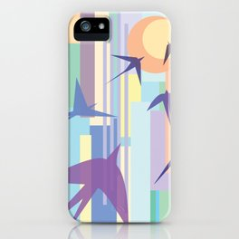 Birds and the Sun iPhone Case