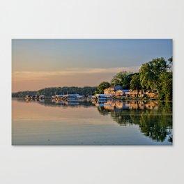 Reflective South Shore Canvas Print