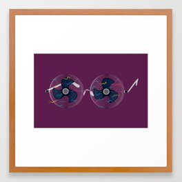 WindGlasses Framed Art Print