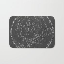 Star Map Bath Mat