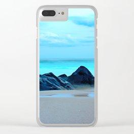 Ocean Mist Clear iPhone Case