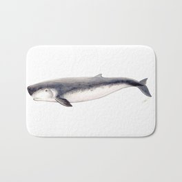 Pygmy sperm whale Bath Mat