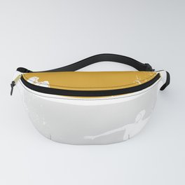 Pool Ball Vintage Waterfootball Wopo Water Polo Fanny Pack