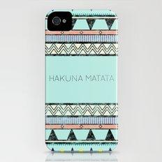 Hakuna Matata iPhone (4, 4s) Slim Case