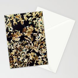 Magnesium Platino Cyanide Crystals Stationery Cards