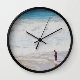 Along the Shore Wall Clock