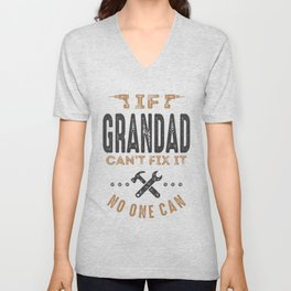 Gift for Grandad Unisex V-Neck