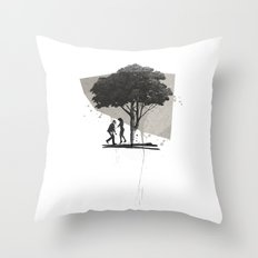 (Down By The) Family Tree | Collage Throw Pillow