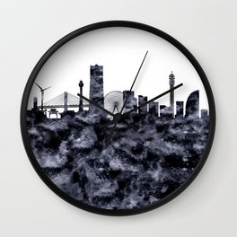 Yokohama Skyline Japan Wall Clock