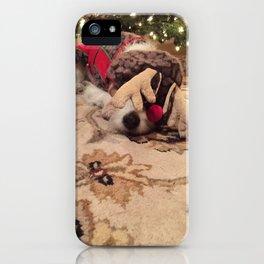 Christmas Slumber iPhone Case