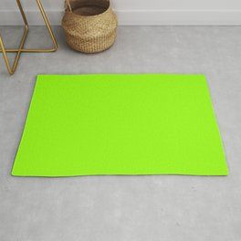 Electric Lime Rug