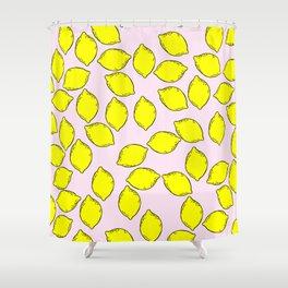 Cute Lemons Shower Curtain