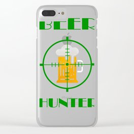 beer hunter Clear iPhone Case