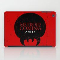 metroid iPad Cases featuring House Metroid by Alecxps