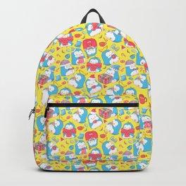 Christmas Penguin Backpack