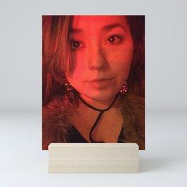 Red Light Stop Mini Art Print