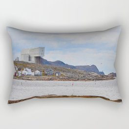 fishing village on Fogo Isl, NL Rectangular Pillow