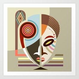 Maskermorphosis Art Print