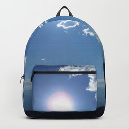 California into Nevada view Backpack