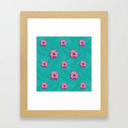 Floral pattern 2 Framed Art Print