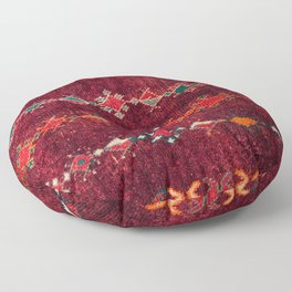 -A8- Colored Traditional Moroccan Carpet Artwork. Floor Pillow